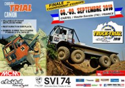Europa Truck Trial Chatel 2018