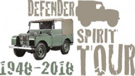 Le Defender Spirit Tour