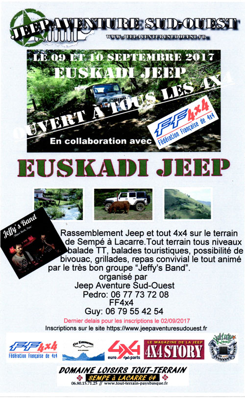Euskadi Jeep 2017