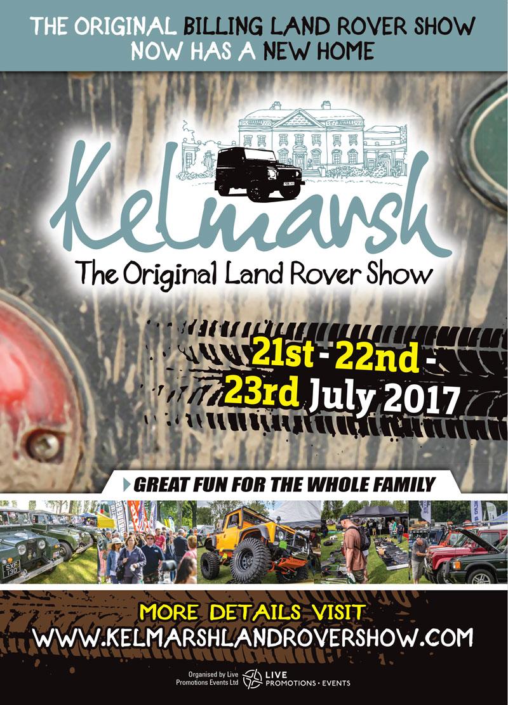 Kelmarsh Land Rover Show 2017