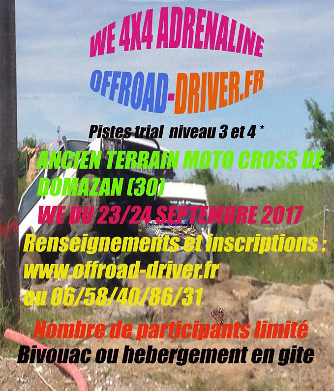 Week-end 4x4 Adrenaline Offroad-driver