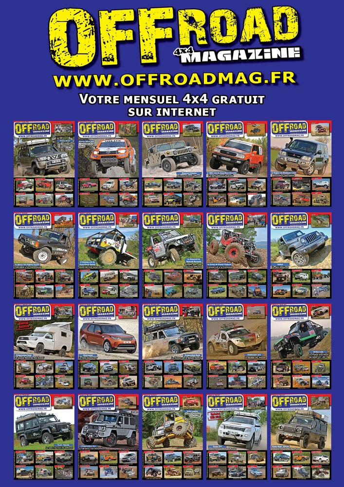les anciens numéros d'Offroad 4x4 Magazine