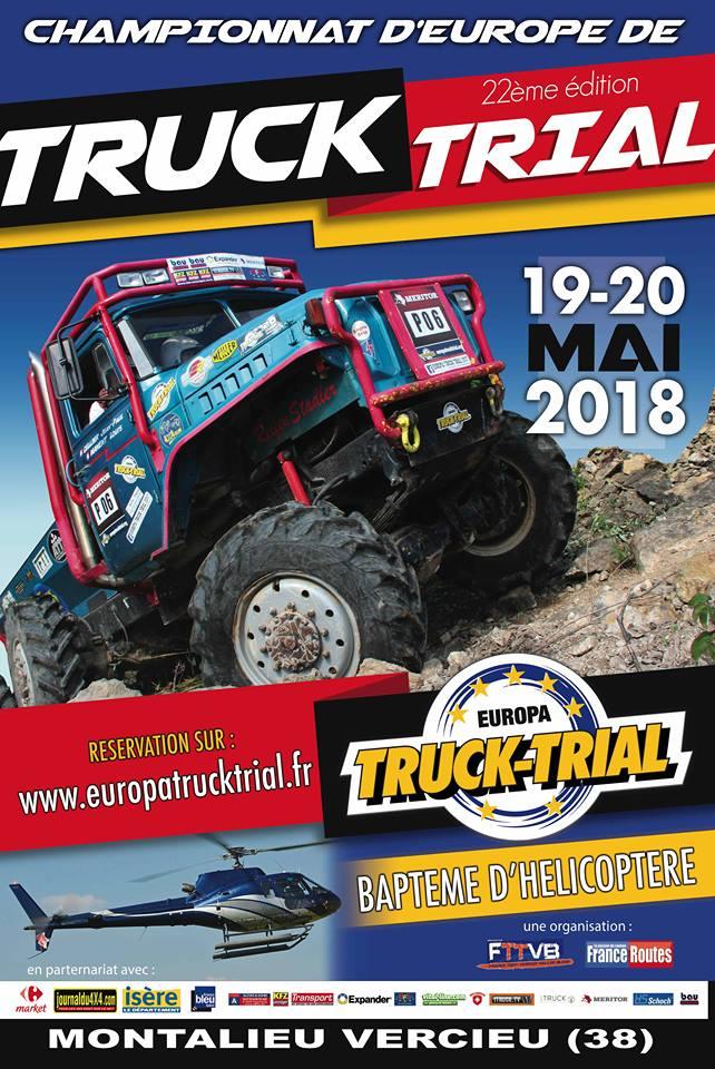 Europa truck Trial montalieu 2018