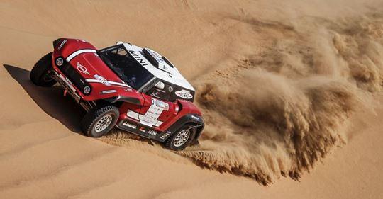 Luc Alphand Abu Dhabi Desert Challenge