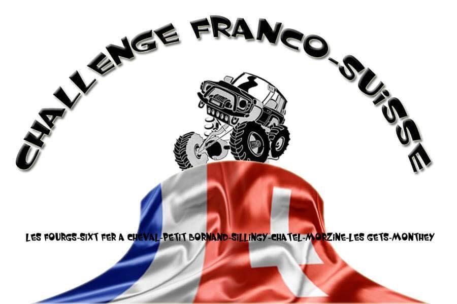 Challenge Franco-suisse trial 4x4 2018