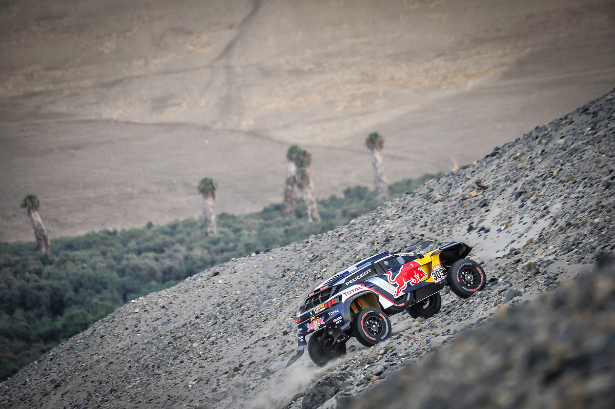 Carlos Sainz Dakar Etape 6