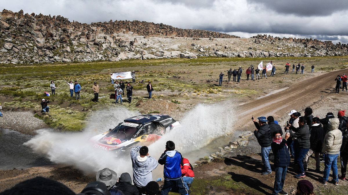 Carlos Sainz Dakar Etape 7