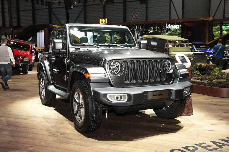 Jeep Wrangler 2018 Geneve