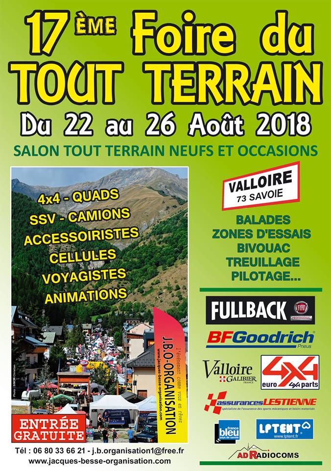 Foire TT de Valloire 2018
