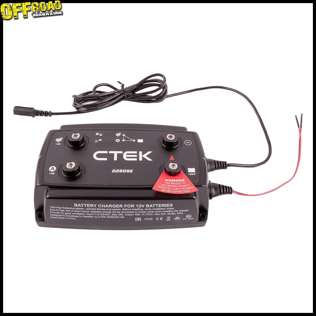Le coupleur CTEK D250 chez Euro4x4parts