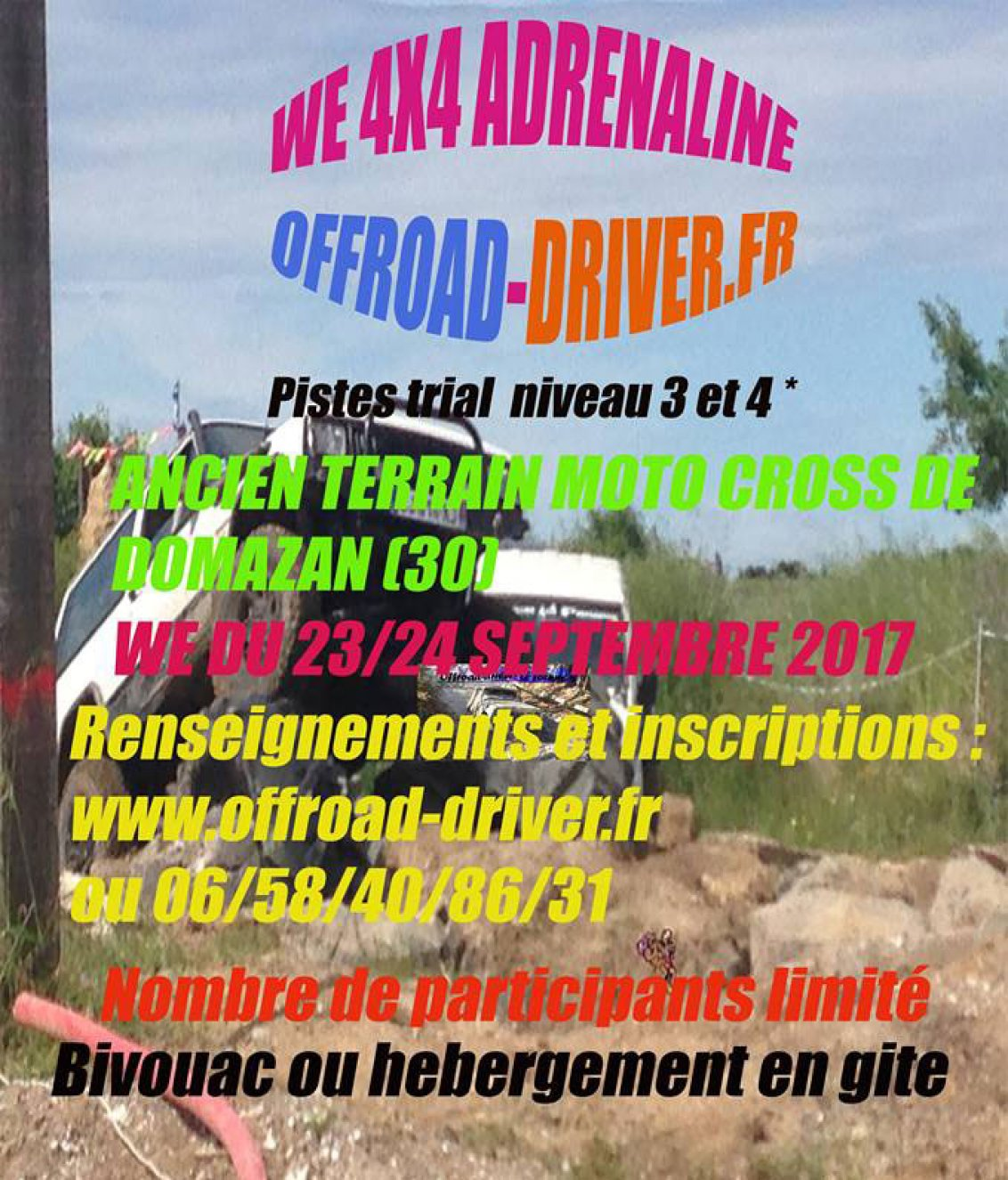 Week-end 4x4 Adrenaline d'Offroad-Driver