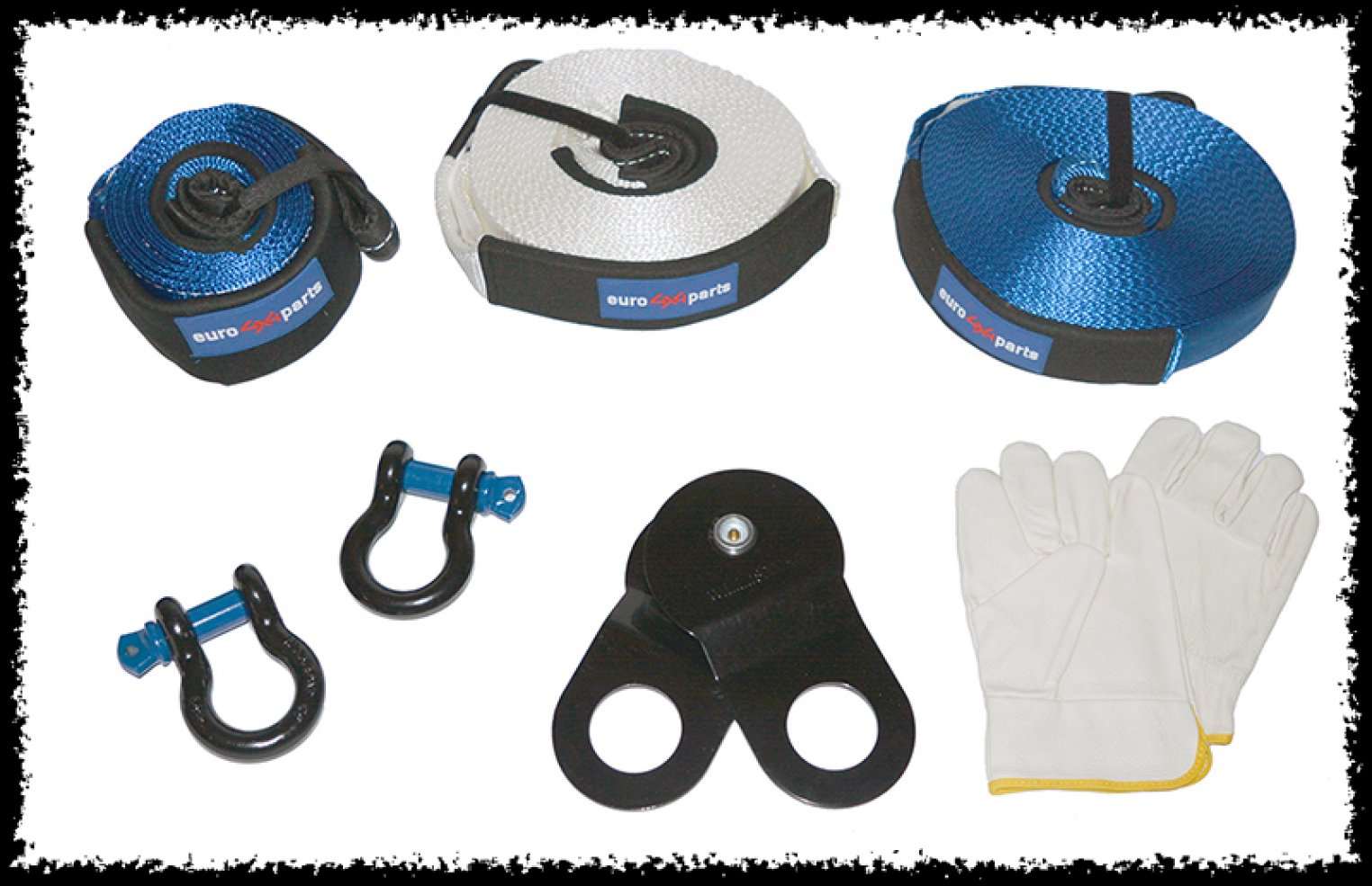 Kit de treuillage chez Euro4x4parts