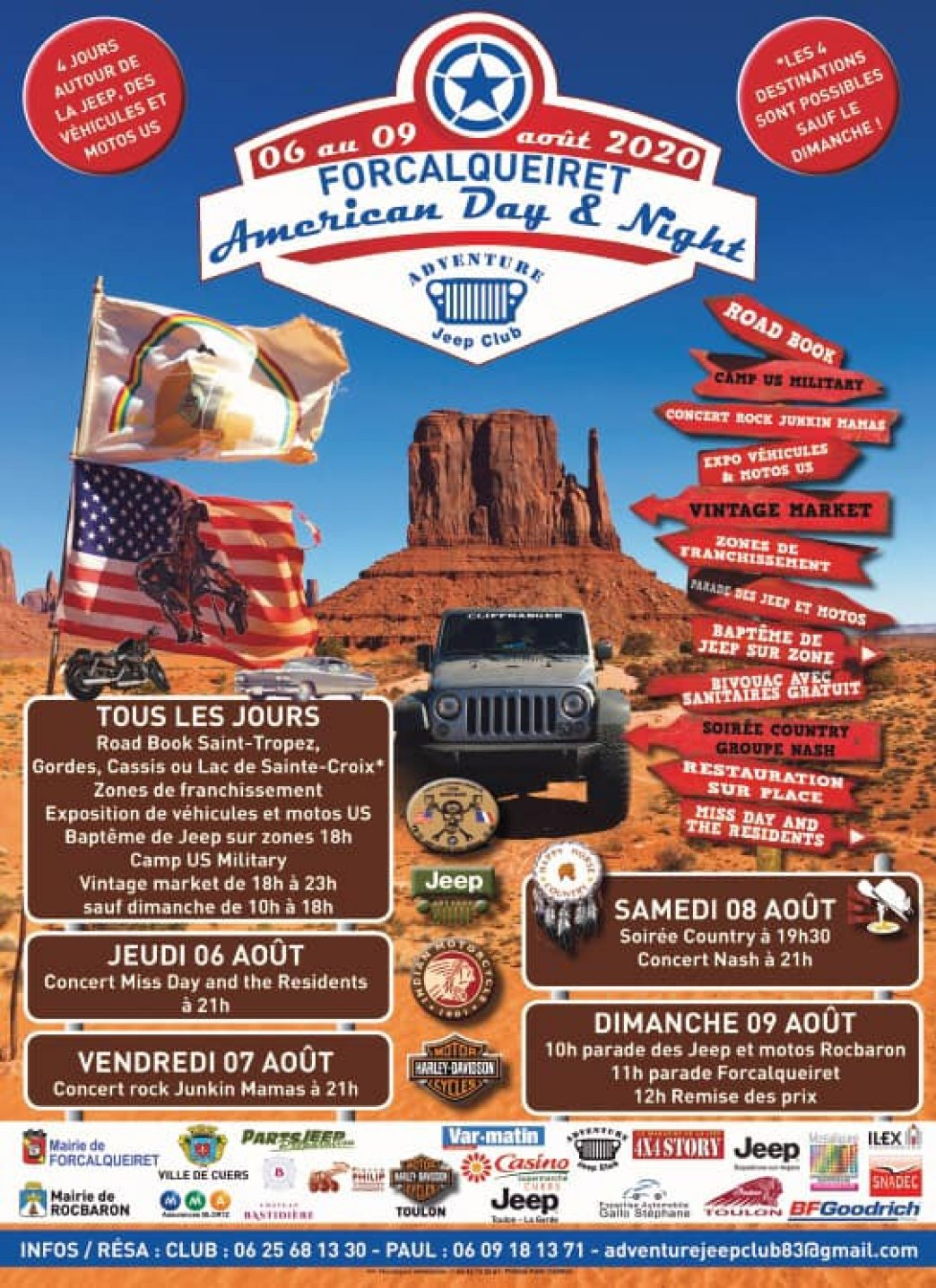 American Day & Night 2020 pour les jeepers