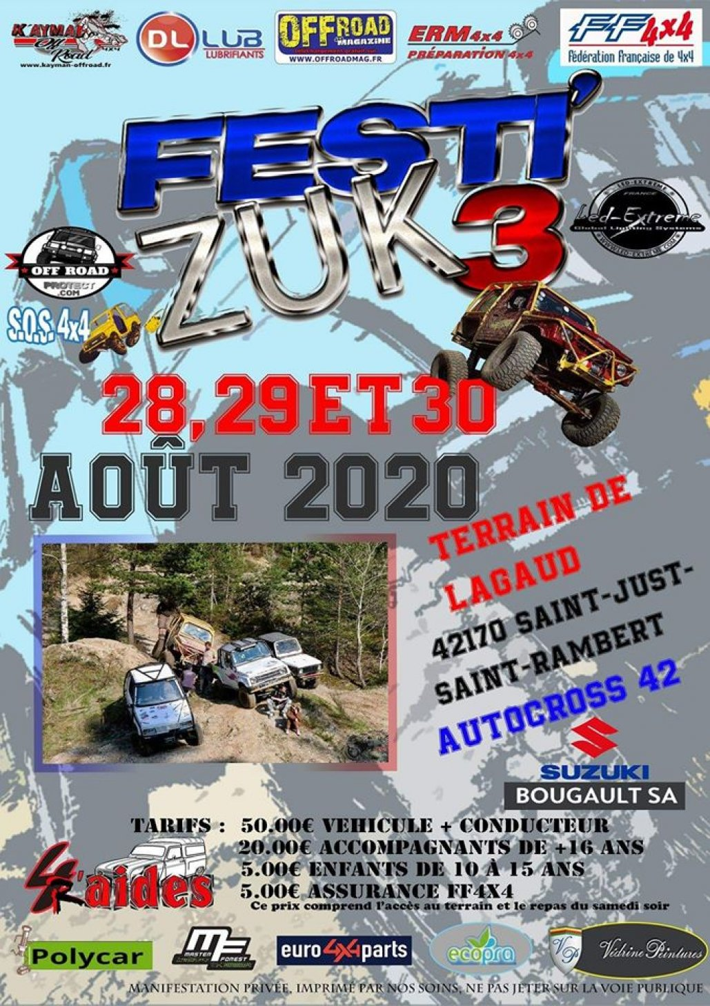 Le Festi'Zuk 2020 change de dates
