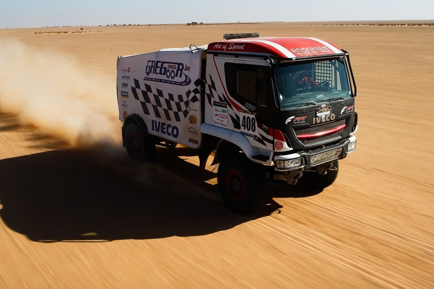 AER 2020 : les camions dominent le Stage 5