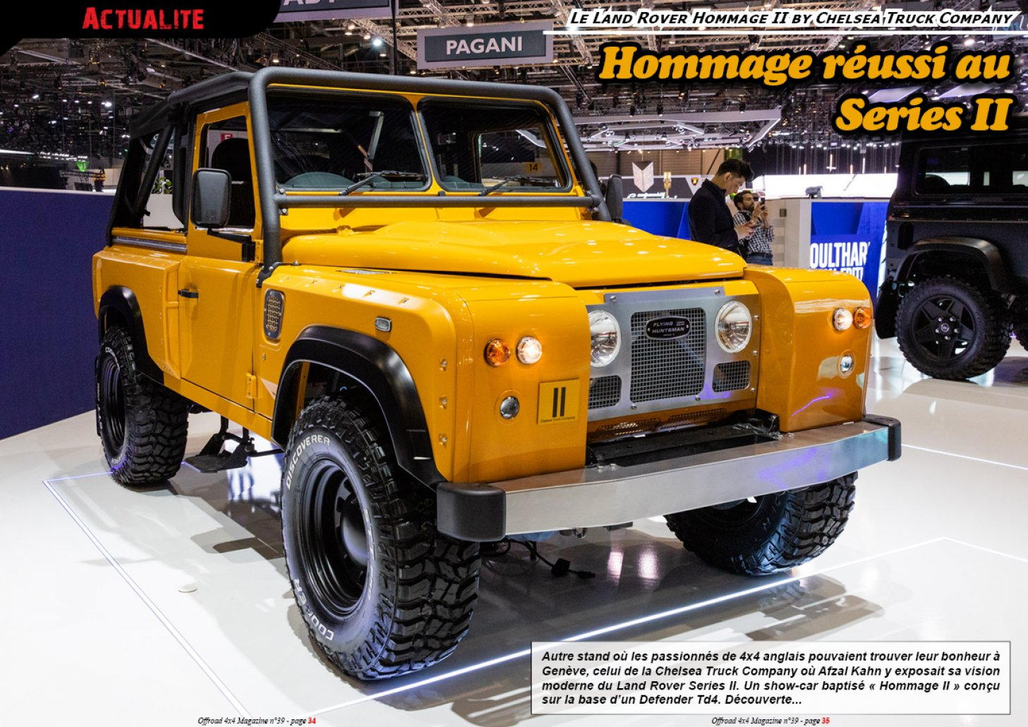 L'Hommage II by Chelsea Truck Company