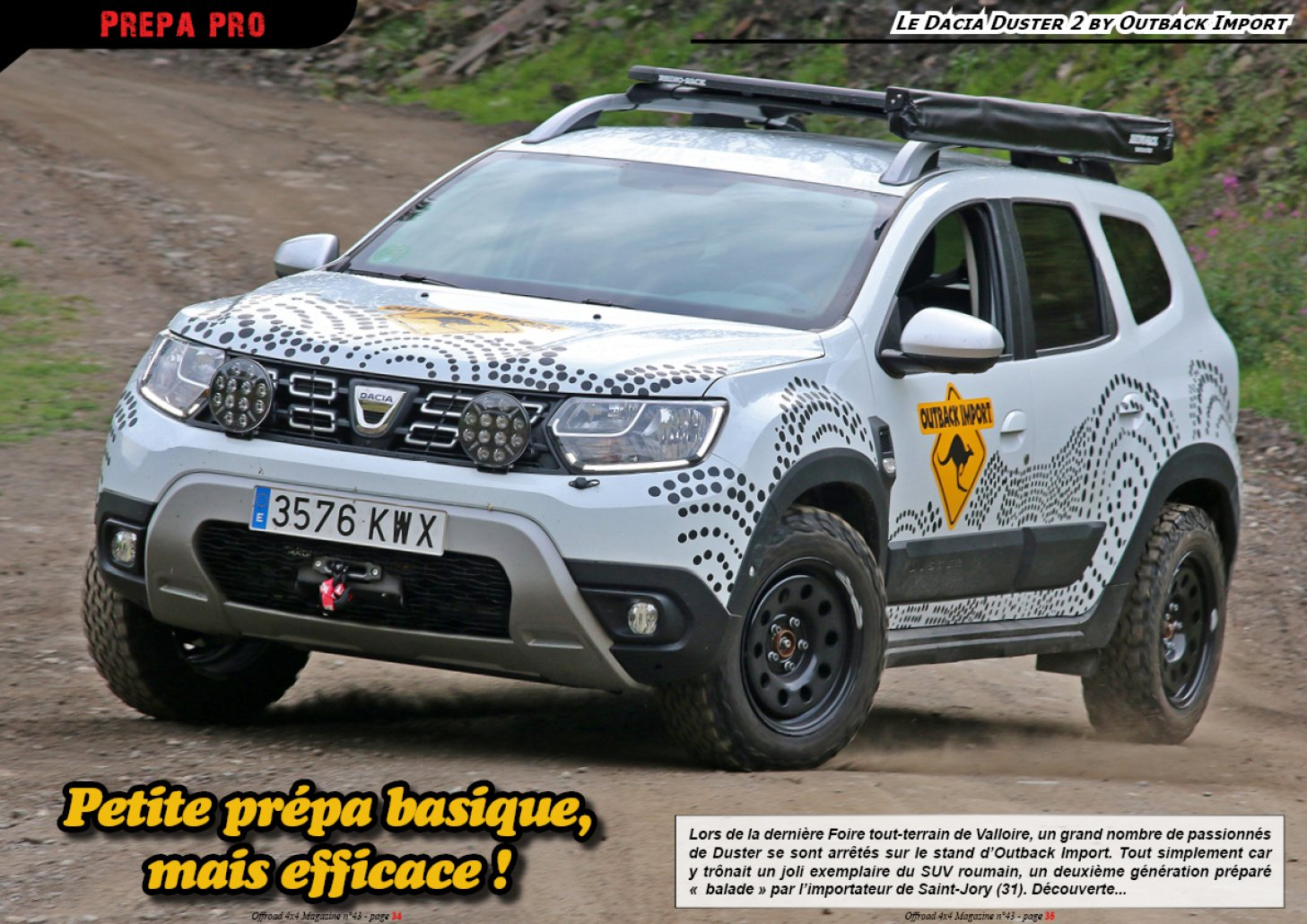 Le Dacia Duster 2 by Outback Import