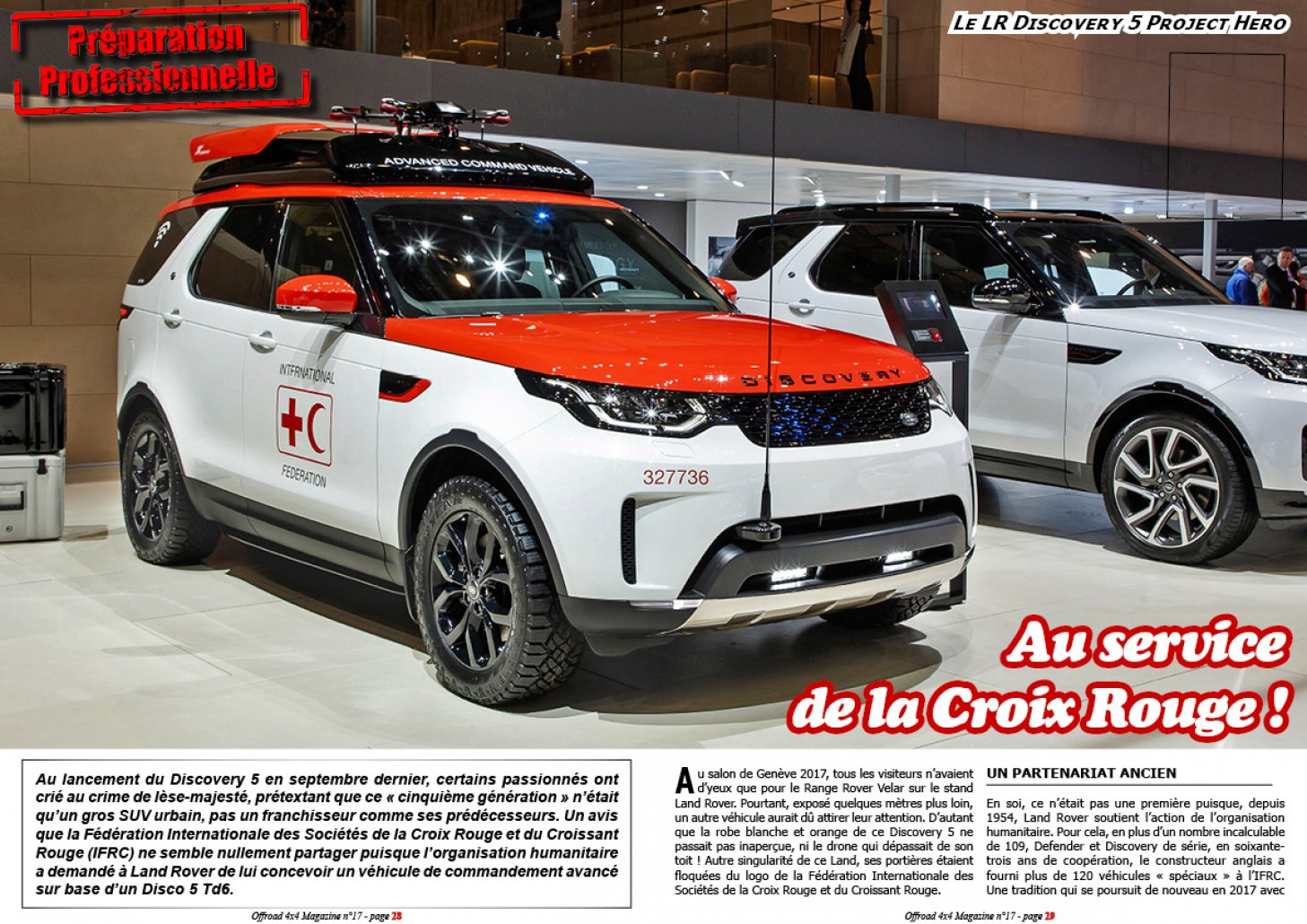 Le Land Rover Discovery 5 Project Hero