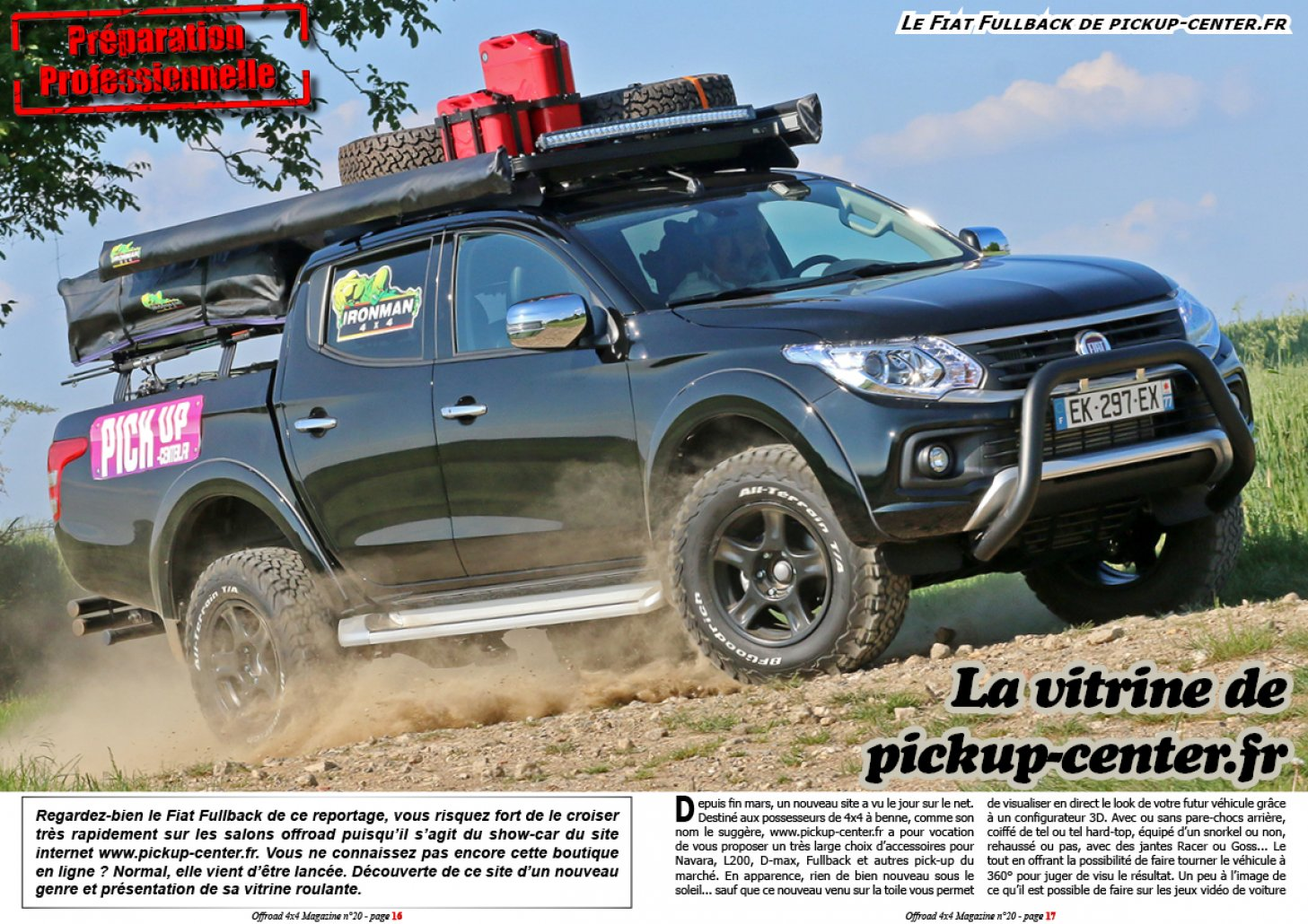 Le Fiat Fullback de pickup-center.fr