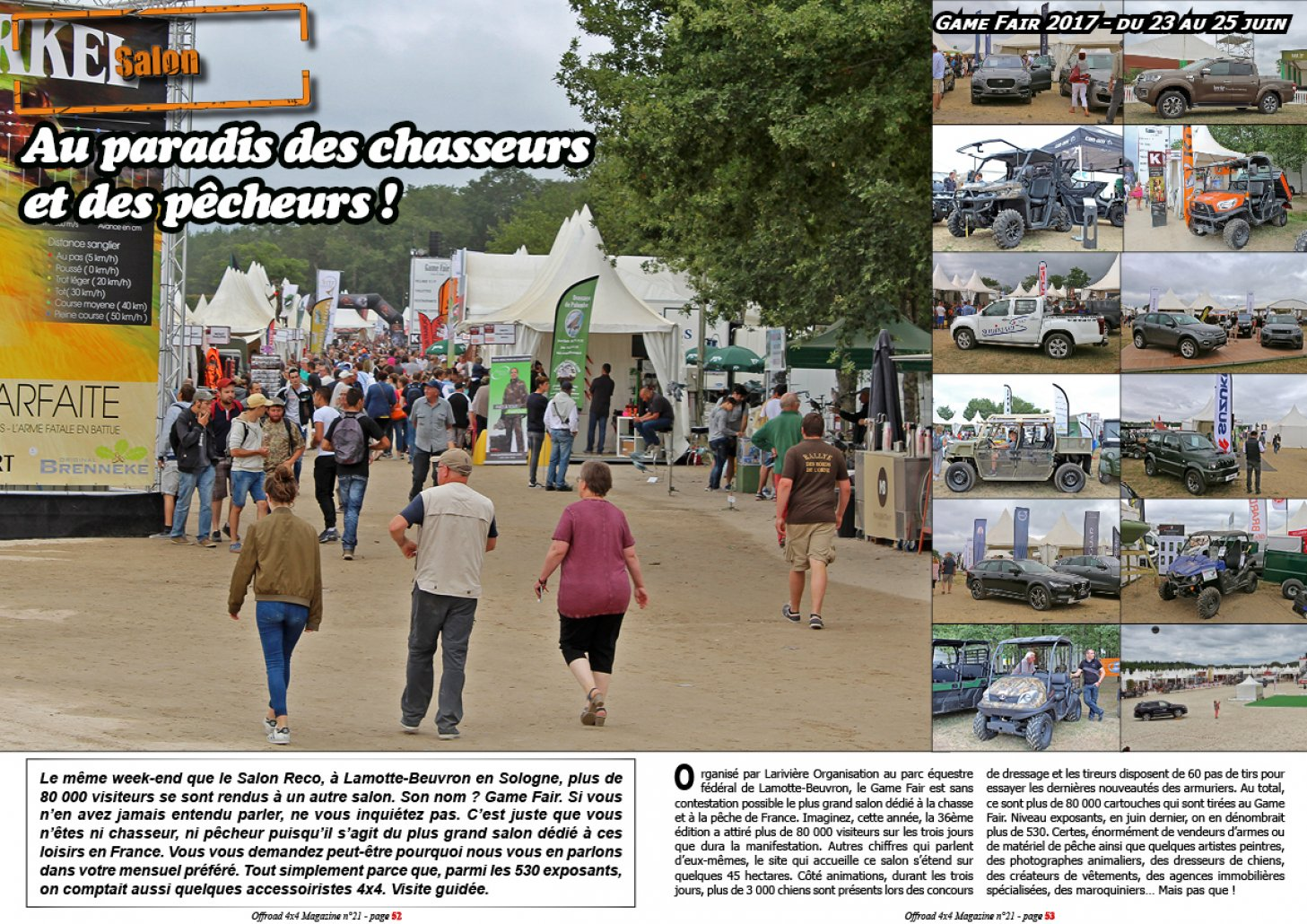 Le salon Game Fair 2017