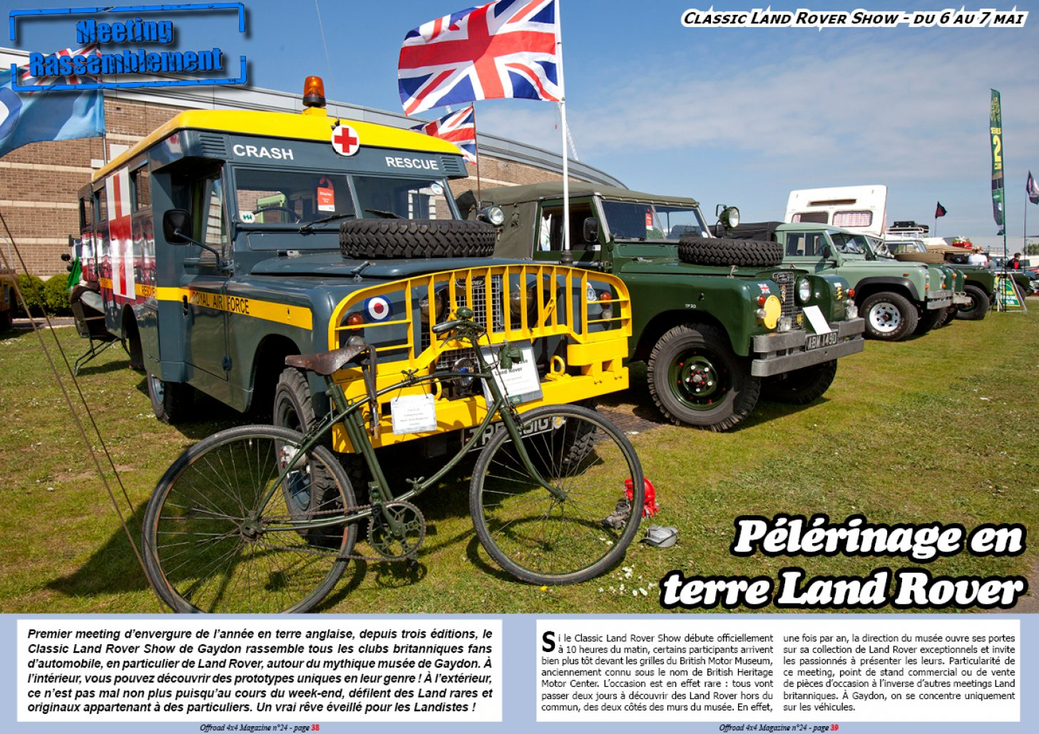 Le Classic Land Rover Show 2017
