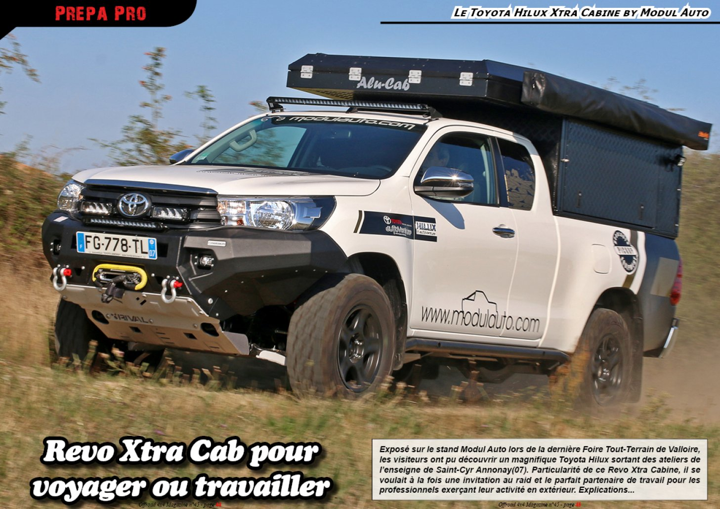 Le Toyota Hilux Xtra Cabine by Modul Auto