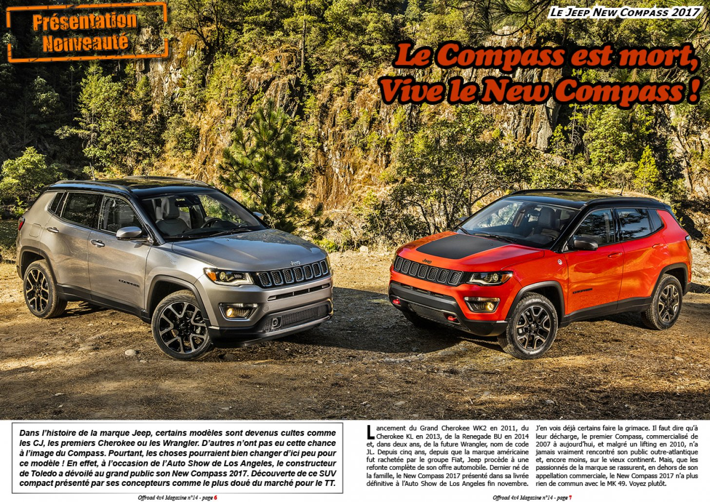 Le Jeep New Compass 2017