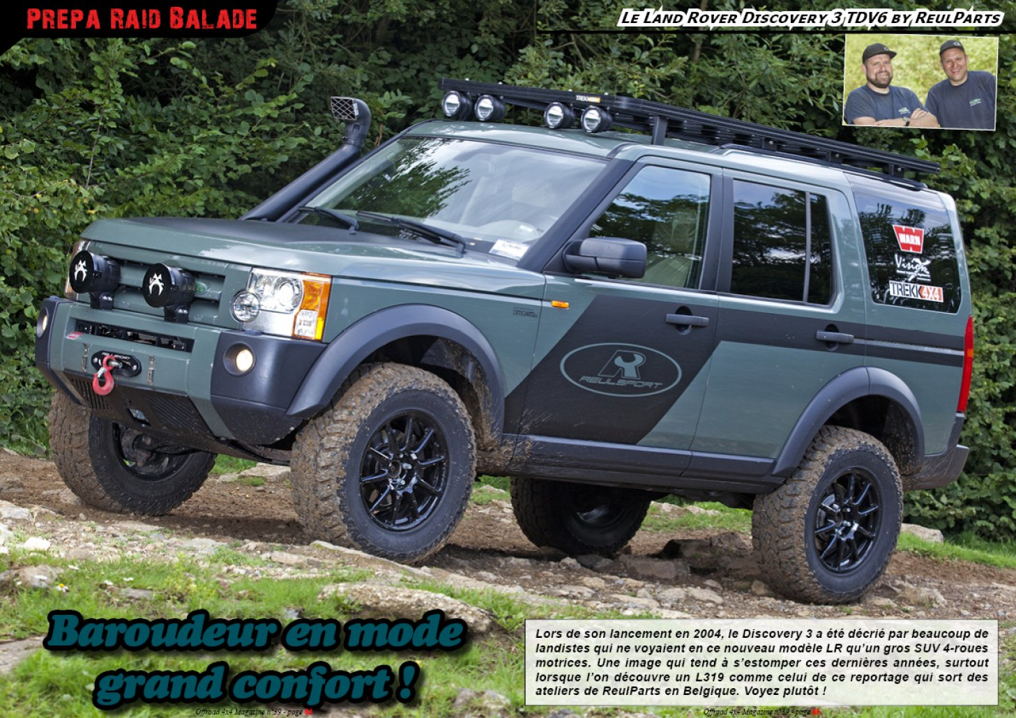 Le LR Discovery 3 TDV6 by ReulParts