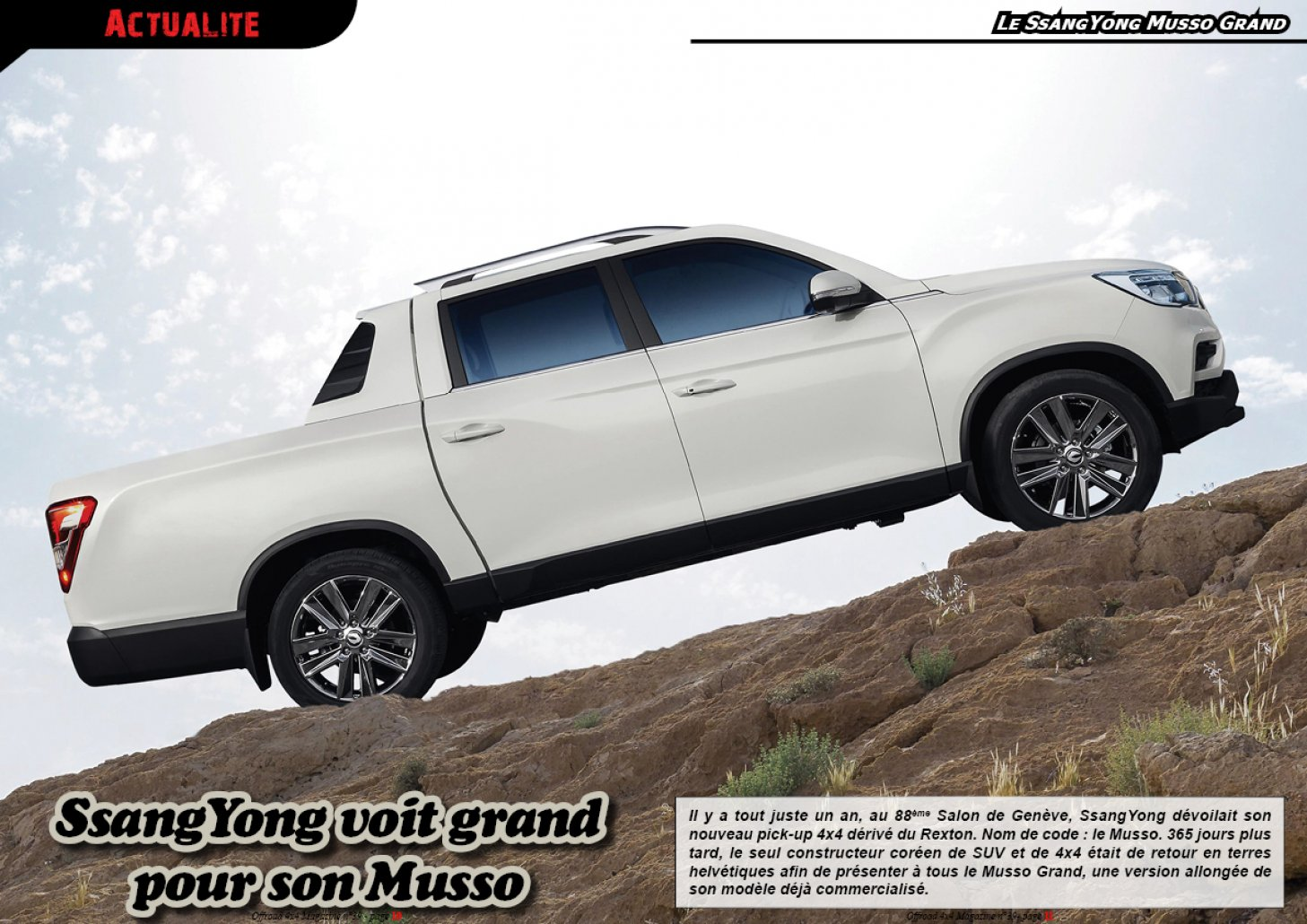 Le SsangYong Musso Grand