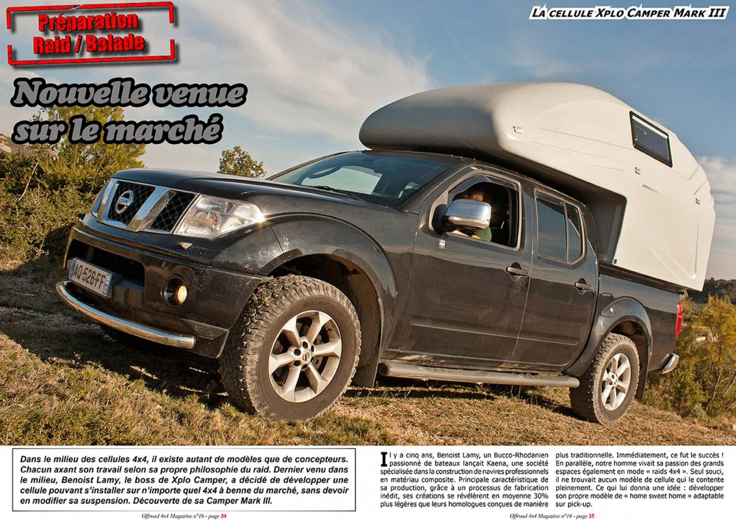 La cellule Xplo Camper Mark III