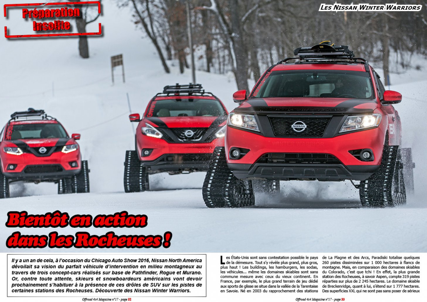 Les Nissan Winter Warriors