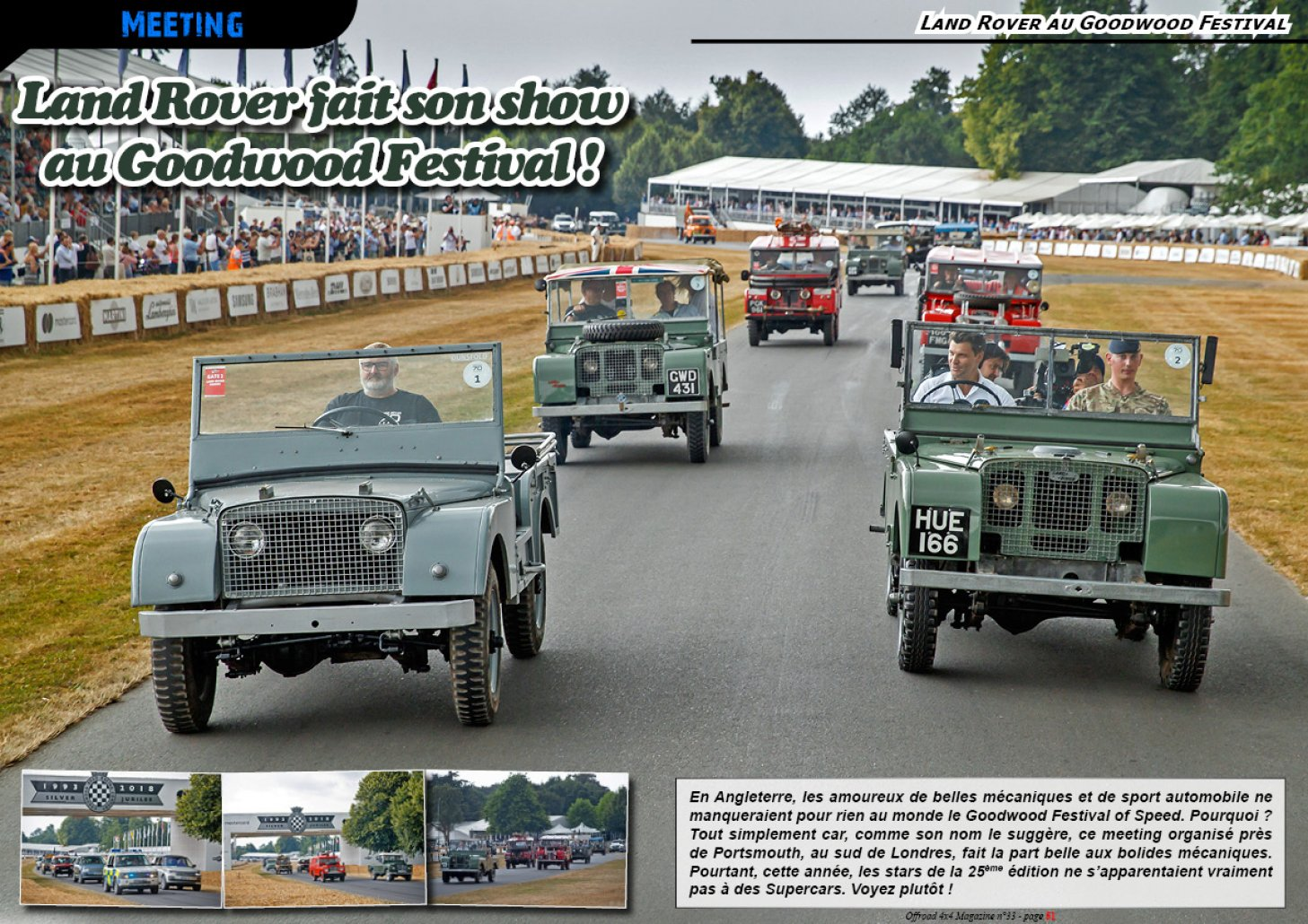La Parade LR au Goodwood Festival