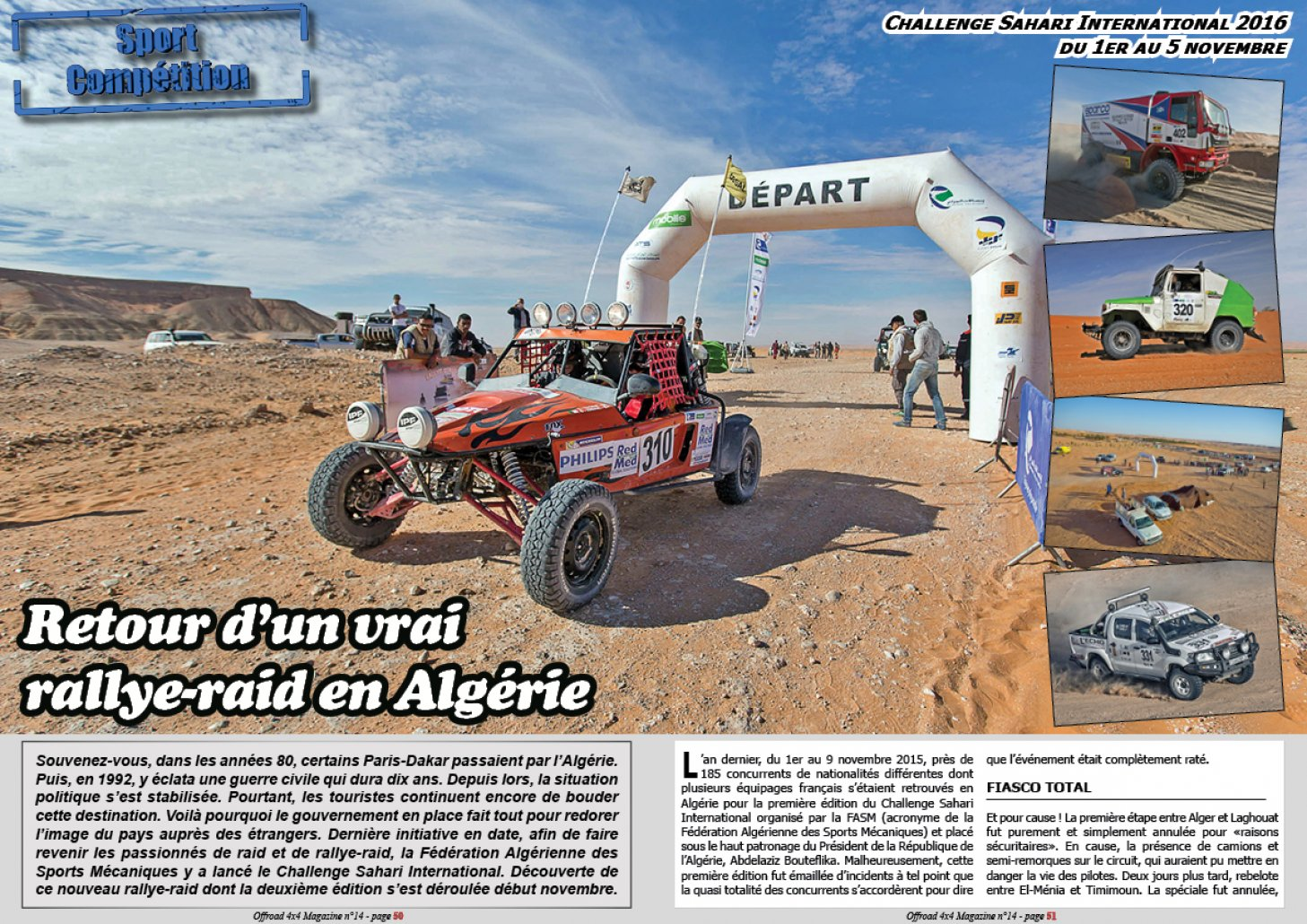 Le Challenge Sahari International 2016
