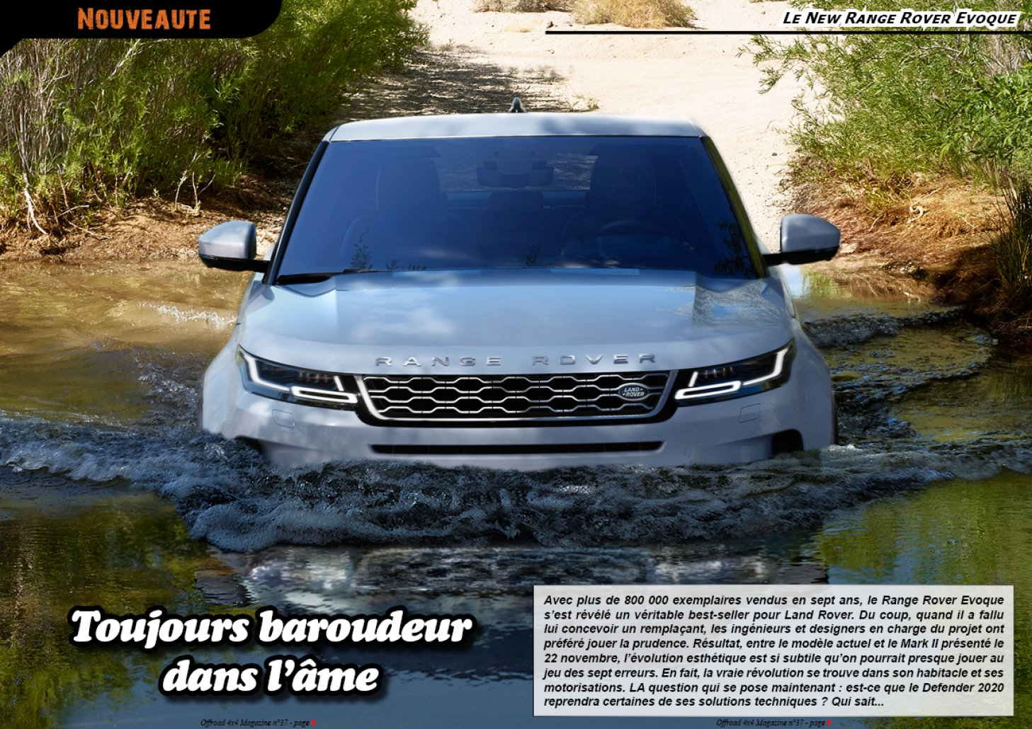 Le New Range Rover Evoque