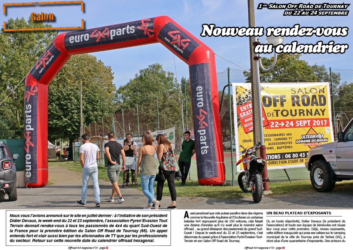 Le Salon Off Road de Tournay 2017