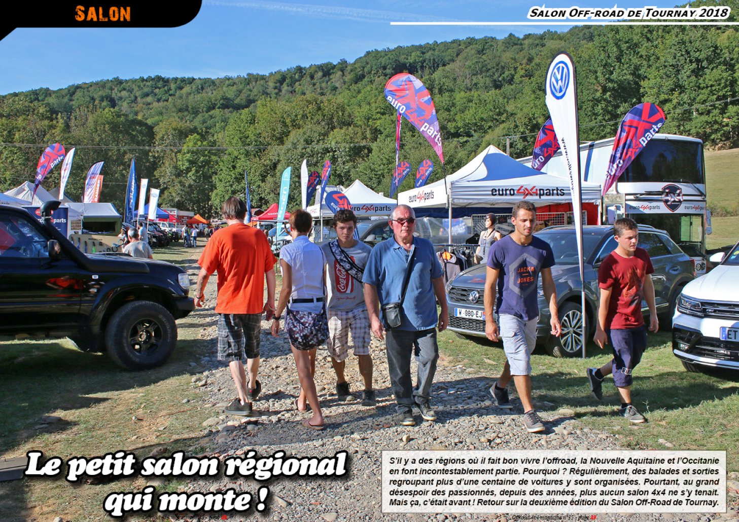 Le Salon Off-road de Tournay 2018