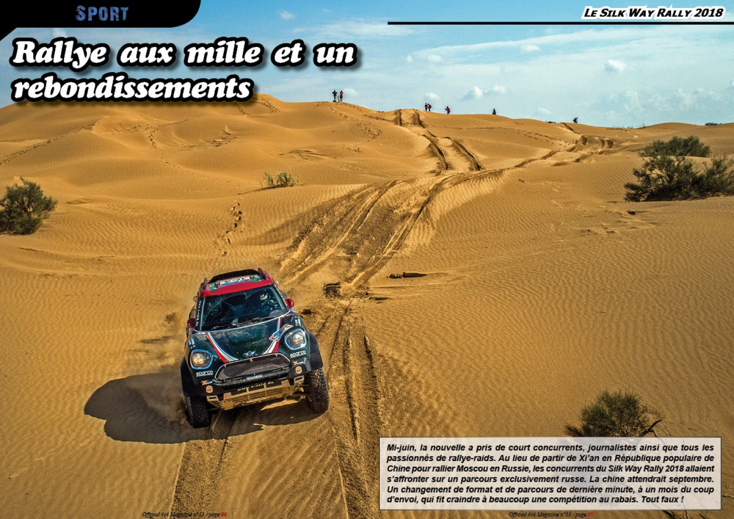 Le Silk Way Rally 2018