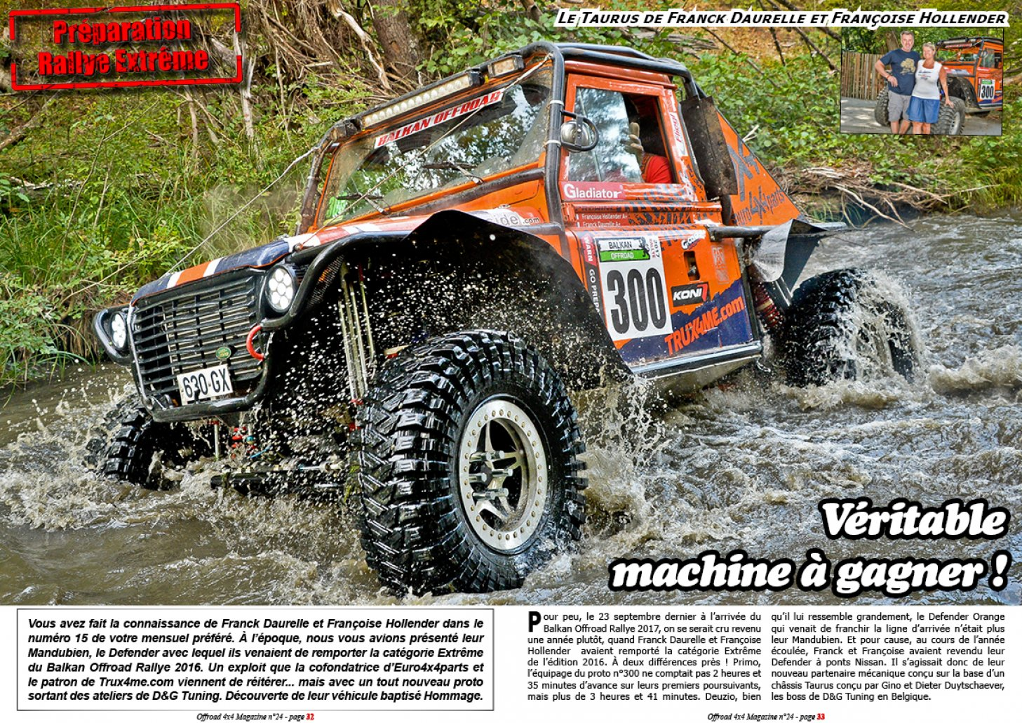 Le Taurus Hommage du team Euro4x4parts