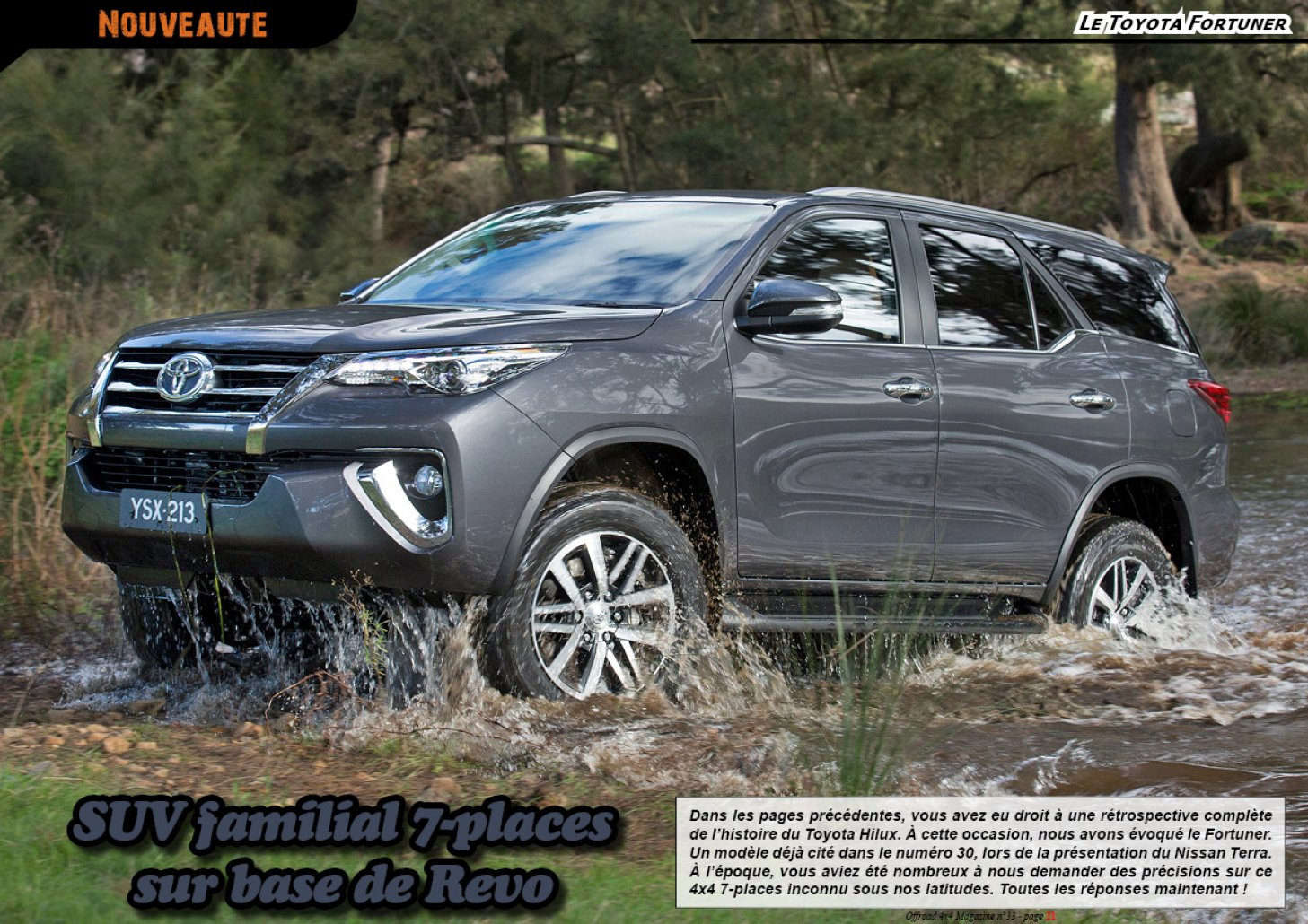 Le Toyota Fortuner