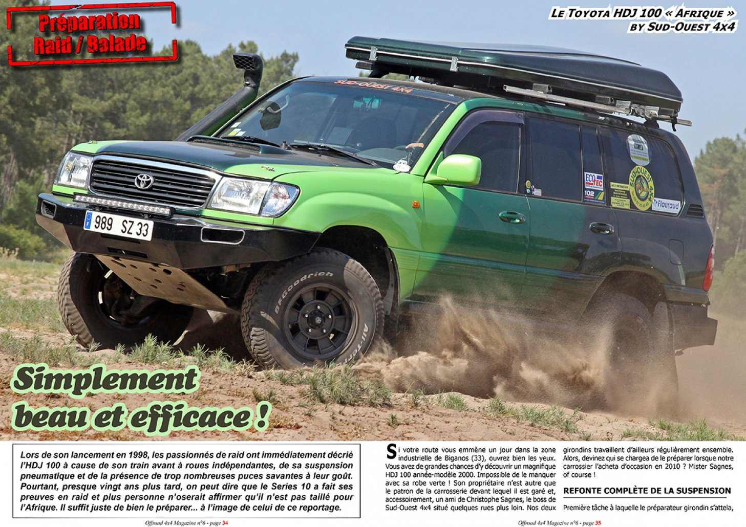 offroad 4x4 magazine les archives de toutes nos news. Black Bedroom Furniture Sets. Home Design Ideas