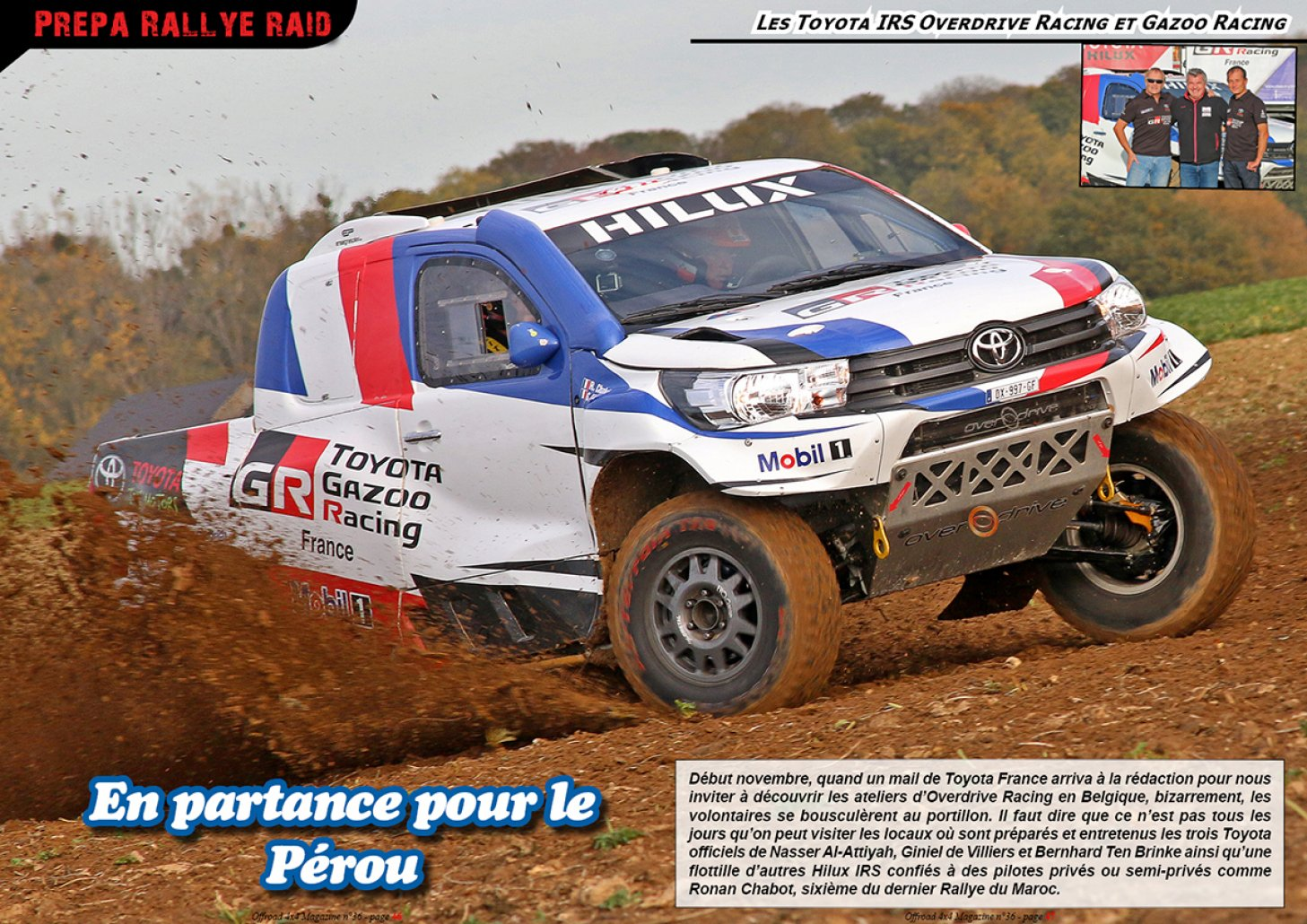 Les Toyota Hilux IRS Overdrive Racing