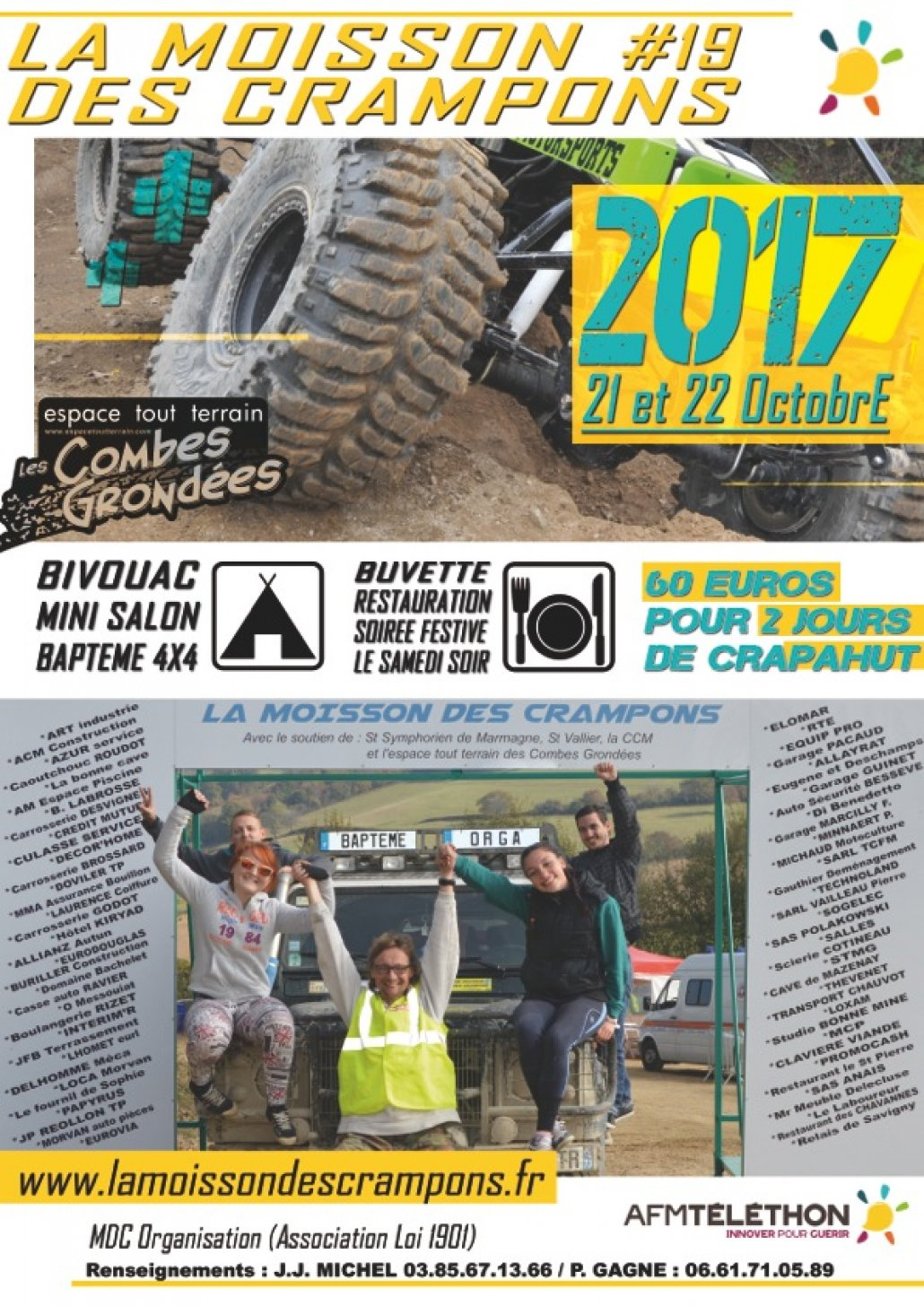 Week-end 4x4 au profit du Téléthon