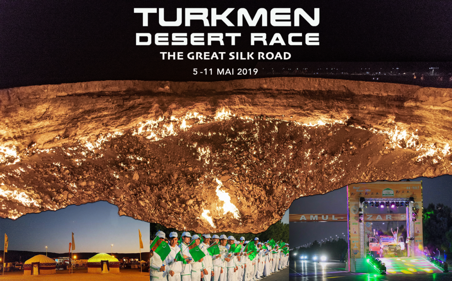 Turkmen Desert Race : les dates 2019