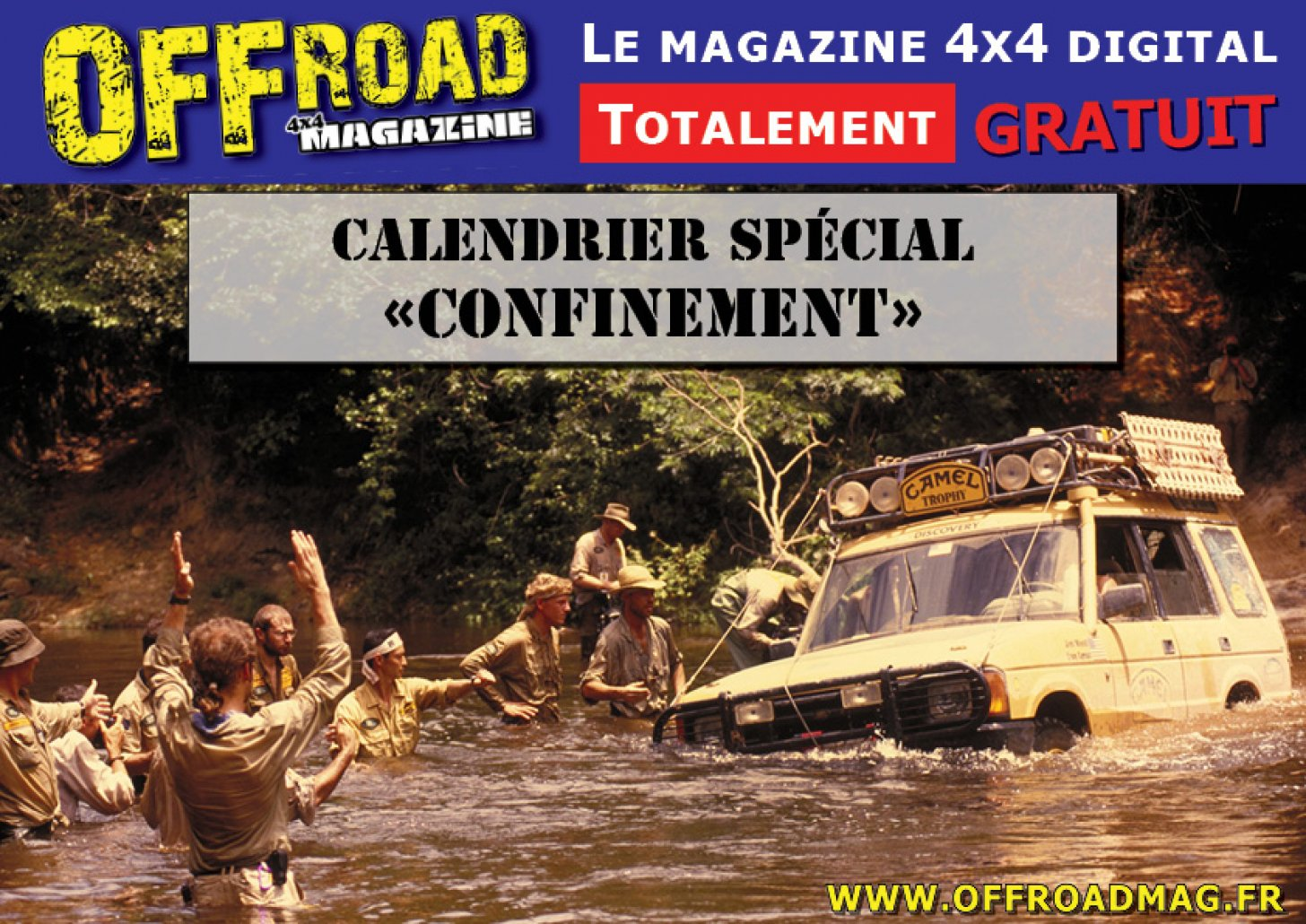Calendriers spécial Confinement Offroad Mag