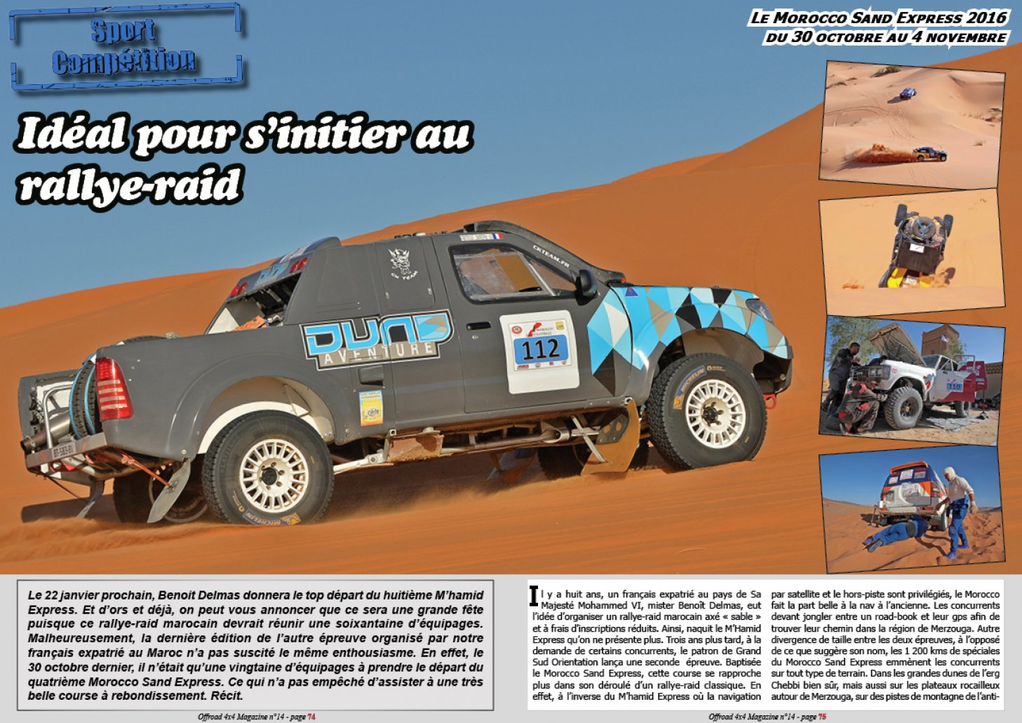Le Morocco Sand Express