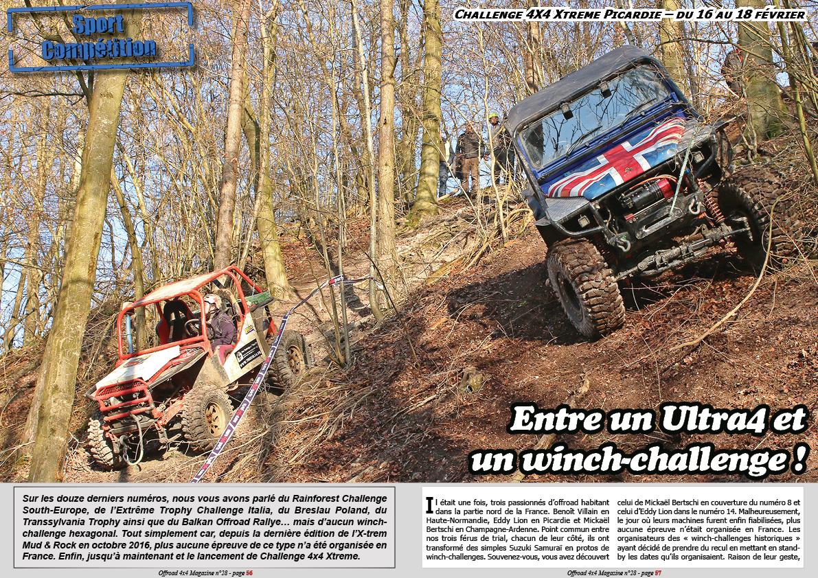 Le Challenge 4X4 Xtrême Picardie