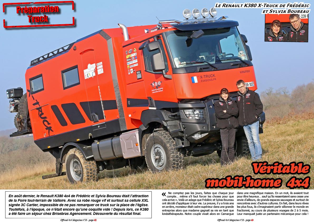 Le Renault K380 d'X-Truck Evasions