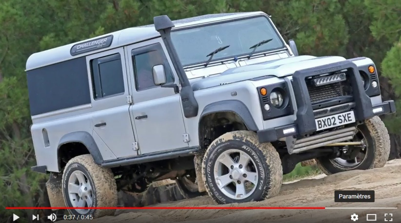Le Defender 110 by Sven Made en action